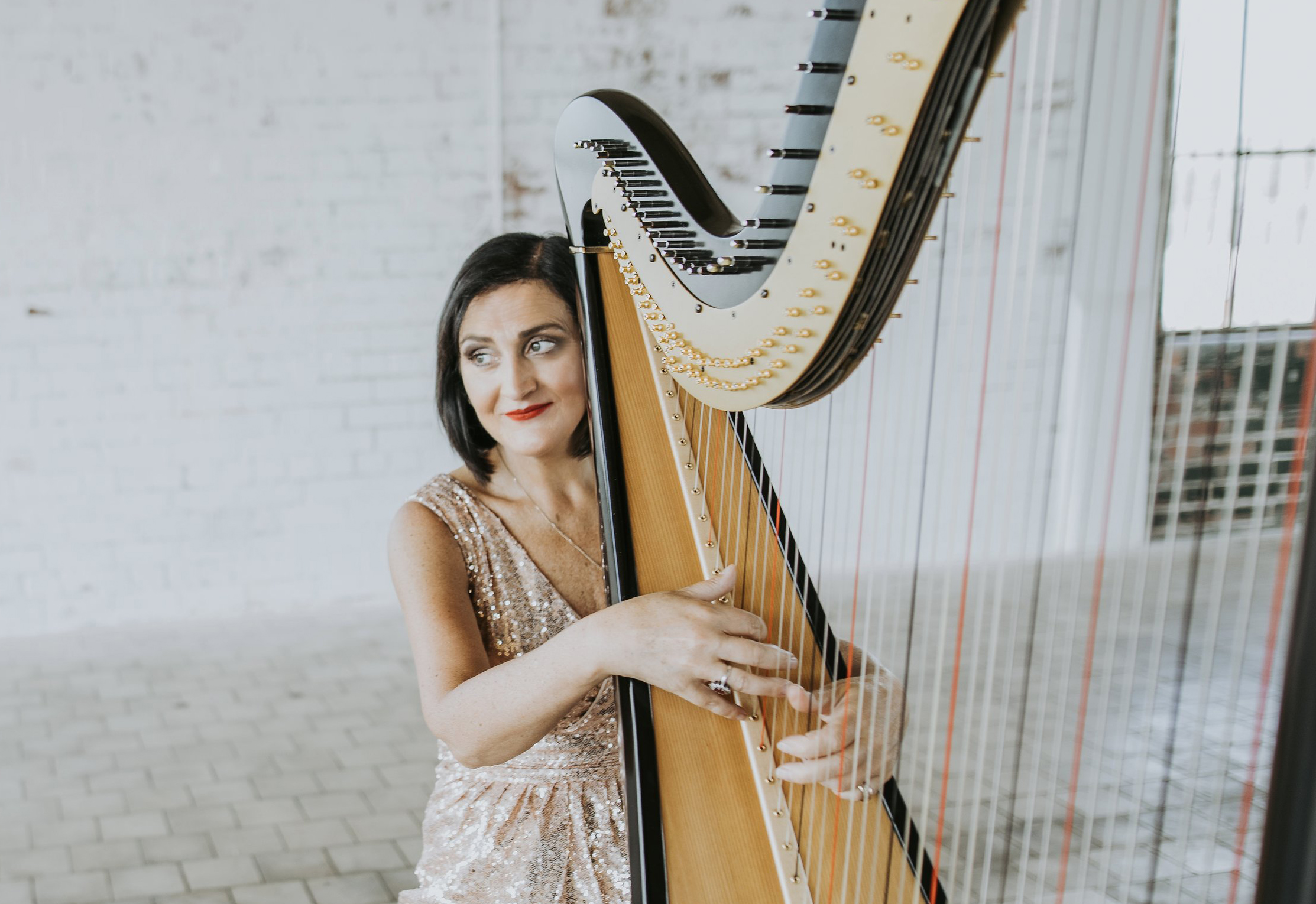 About | Harpist | Singer | Pianist | Organist | Les Magee