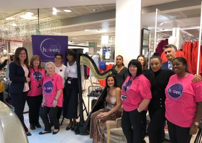At Peter Jones for Breast Cancer Awareness Month